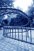 Spiral Metal Fitness Equipment In The Stone Door Park, Shijiazhuang, China