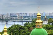 stock photo of kiev  - Kiev Pechersk Lavra one of the most famous monasteries in Kiev and a UNESCO World Heritage Site - JPG