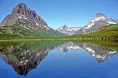 Swiftcurrent Lake Reflection