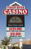 The Virgin River Casino Sign In Mesquite, Nv On May 24, 2013