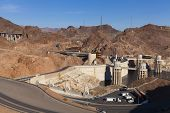 Above Hoover Dam In Boulder City, Nv On May 13, 2013