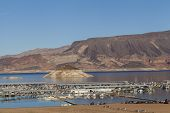 Lake Mead Marina In Boulder City, Nv On January 30, 2013