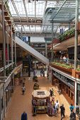 Shoppers At Mall Of America In Bloomington, Mn On July 06, 2013