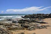 Brasil - Praia Do Forte, Man Fishing