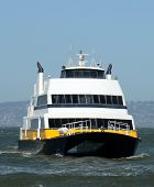 Ferry Boat In San Francisco