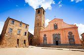 Church Of St. Donato. Civita Di Bagnoregio. Lazio. Italy