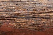 Natural texture of old hard wood