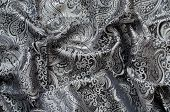 Ornate Drapery, Brocade Fabric
