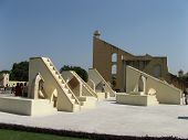 Astronomical Instruments In Observatory Jantar Mantar