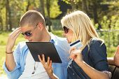 Young Couple Shopping Problem