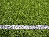 Soccer Field's Line Horizontal