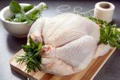 Preparing Chicken For Roasting