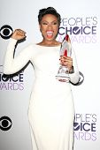 LOS ANGELES - JAN 8: Jennifer Hudson at The People's Choice Awards at the Nokia Theater L.A. Live on
