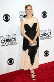LOS ANGELES - JAN 8: Emily Deschanel at The People's Choice Awards at the Nokia Theater L.A. Live on