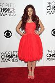 LOS ANGELES - JAN 8: Jillian Rose Reed at The People's Choice Awards at the Nokia Theater L.A. Live