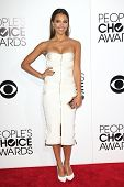 LOS ANGELES - JAN 8: Jessica Alba at The People's Choice Awards at the Nokia Theater L.A. Live on Ja