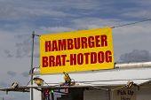 Hamburger Brat Hotdog Stand