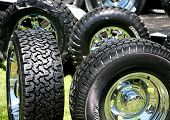 New Large Truck Tires