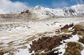 Montagnola (2644 m) is located to the south of the Central Crater (3350 m) in Etna Park, Sicily