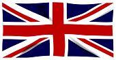 Fluttering Union Jack