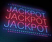 Jackpot Concept.