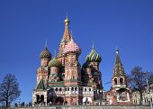 Cathedral of the Protection of Most Holy Theotokos on the Moat (Saint Basil's Cathedral). Red square