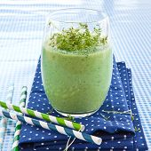 Green Smoothie With Herbs