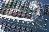 Sound Mixer Control Desk
