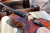 Violin And Fiddle Stick