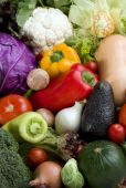 Vegetables Background Variety