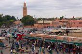 Main Square In Marrakech, Morocco