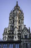 Munich New Town Hall tower