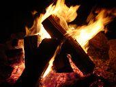 Midnight Camp Fire
