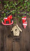 Handmade Retro Style Christmas Decoration Hanging