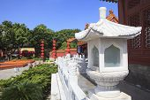 Front View Of Simulation Of Old Summer Palace ,gardens Of Perfect Brightness, Imperial Gardens ,zhuh