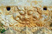 Near Shwegy Gyi Temple Ornament. Bagan. Myanmar