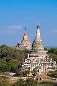 Ta Bet Kya And Ananda Phaya. Bagan. Myanmar