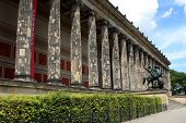 The Altes Museum, Berlin, Germany