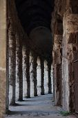 Gallery At The Teatro Marcello In Rome