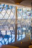 Glasswork Inside The Myzeil Center In Frankfurt