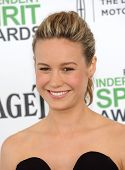 LOS ANGELES - MAR 01:  Brie Larson arrives to the Film Independent Spirit Awards 2014  on March 01,