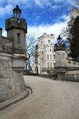 Castle Hluboka - beautiful landmark in Czech Republic
