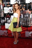 LOS ANGELES - APR 13:  Jessica Alba arrives to the 2014 MTV Movie Awards  on April 13, 2014 in Los A