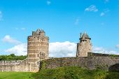 Castle Of Fougeres, Ille-et-vilaine Department (france)