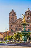 Cuzco, Peru - The Church of the Company of Jesus