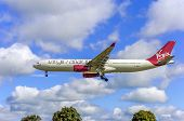 Virgin Atlantic Airbus