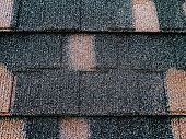 Colored Asphalt Roof Structure