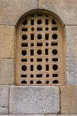 Fine Lattice Window In Pre-romanesque Church