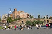 Temple Of Venus And Roma, Italy