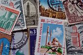Mosque stamps
